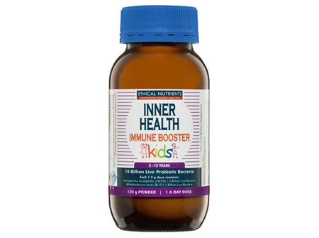 Inner Health Immune Booster Kids 120g Powder