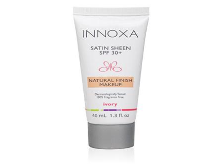 innoxa Satin Sheen Foundation SPF 30 - 40ml Ivory