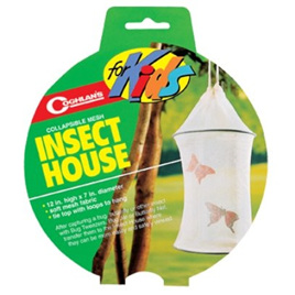 Insect House with Collapsible Mesh