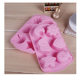 Insects, Moon & Star Silicone Mould