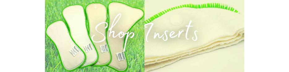 Inserts Reusable Nappies Bamboo Cotton Hemp Night XL Minimi NZ