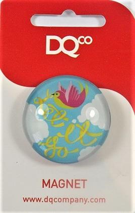 Inspirational Message Magnet - Let it Go