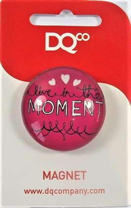 Inspirational Message Magnet - Live in the Moment