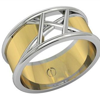 Inspired Men's Wedding Rings