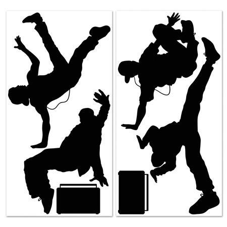 Inst-scene break dancers & boombox