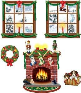 Insta Theme Indoor Prop Fire & Windows