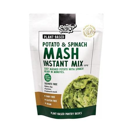 Instant Mash Mix, Potato & Spinach 150gr