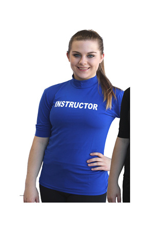 Instructor Printed Rash Shirt