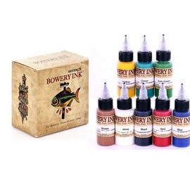 Intenze Bowery Ink by Bowery Stan Moskowitz 1oz 8 color