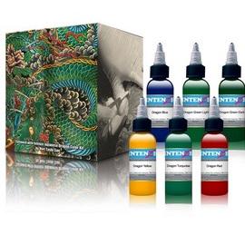 Intenze Dragon Color Tattoo 6 Ink Set 1oz