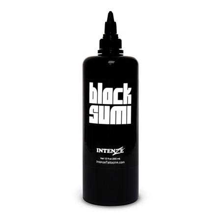 Intenze Japanese Tattoo Ink - Black Sumi 12oz