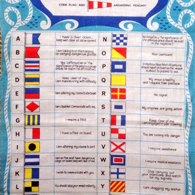 International Code Flags