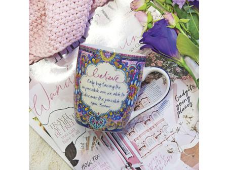 Intrinsic Mug Believe Pink