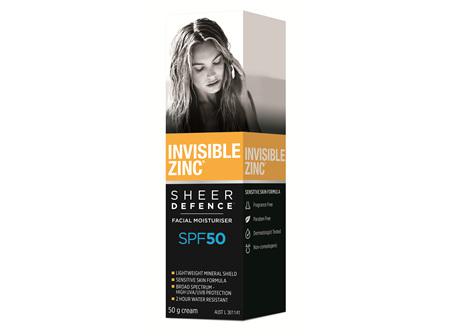 INV. ZINC SD Facial Moist SPF50 50g