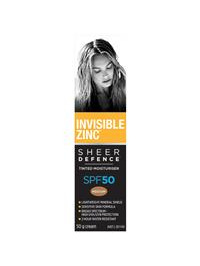 INV. ZINC SD Tint Moist Med SPF50 50g