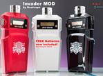 Invader MOD by Heatvape - Dual 18650 Battery MOD