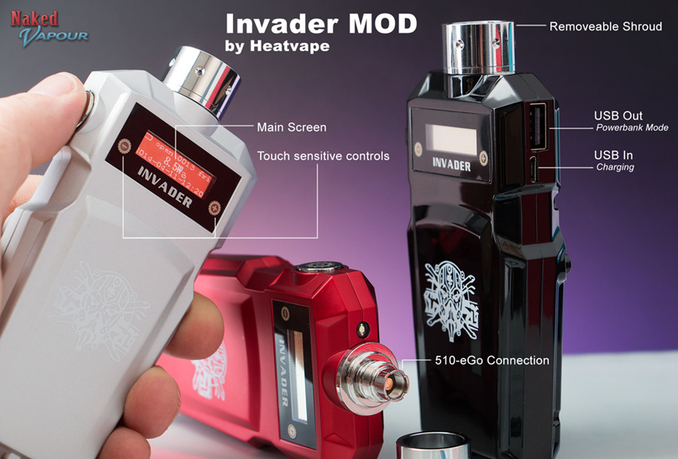Original Yocan Hive 2.0 VV AIO Kit W/ Built-in 650mAh Battery Magnetic  Connection