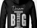 Invercargill Hoodie DREAM BIG - Back