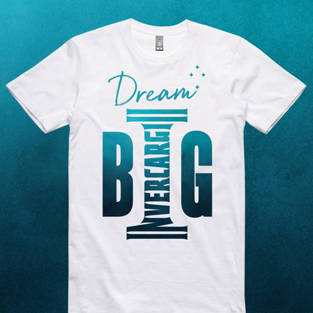 Invercargill T-Shirt DREAM BIG