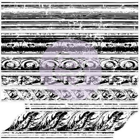 IOD 1st Generation Decor Stamp - Trompe L'oeil I