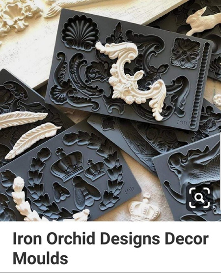 IOD Decor Moulds, Air Dry Clay, Resin and Brick Rollers