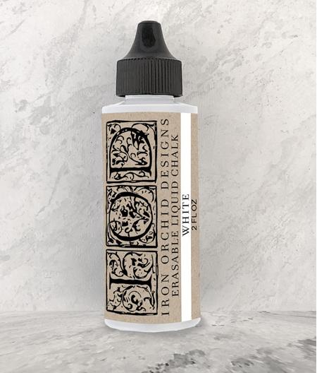 IOD Erasable Liquid Chalk - White