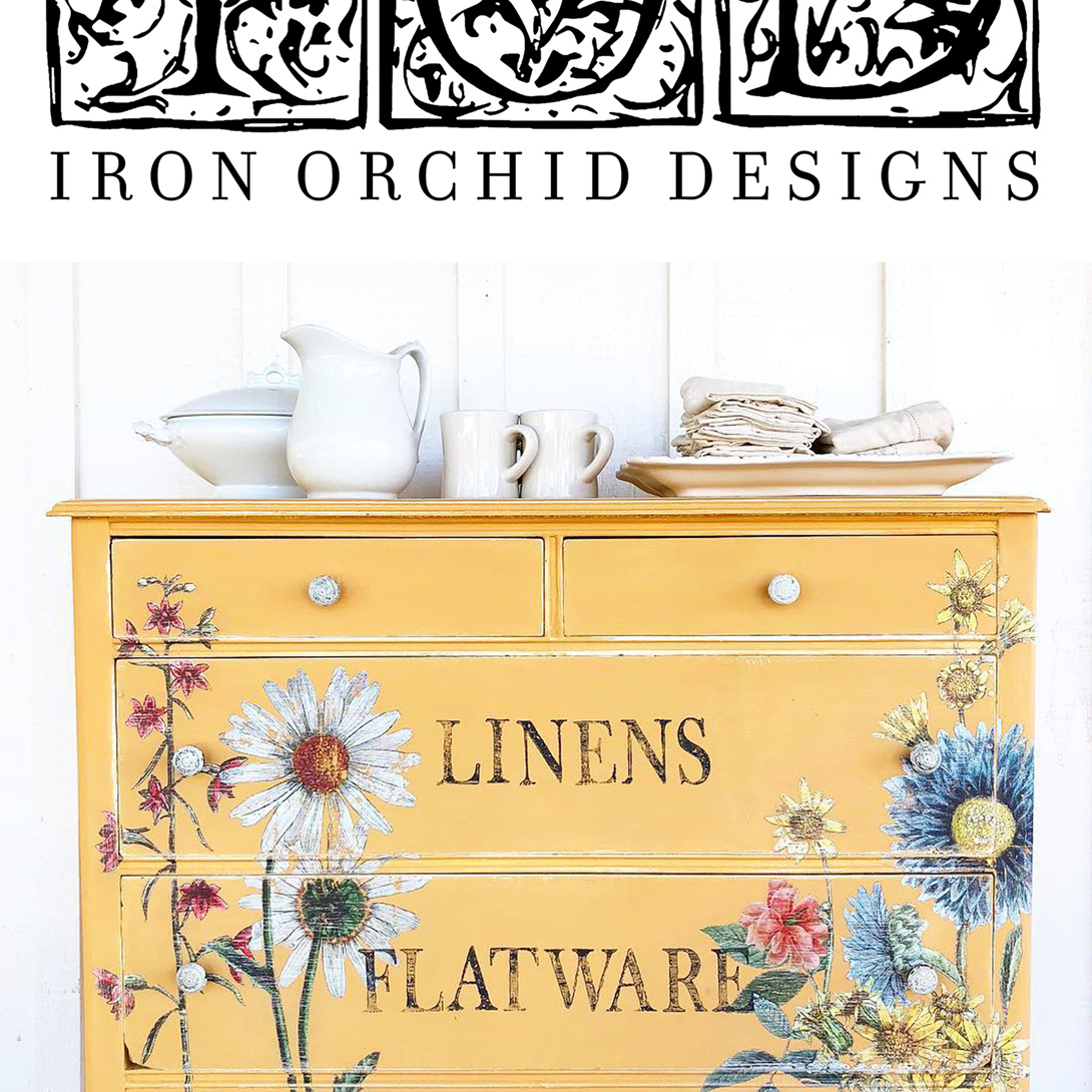 IOD - Iron Orchid Designs for Decor Stamps, Transfers and Moulds.