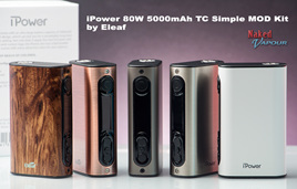 iPower 80W 5000mAh TC Simple MOD Kit by Eleaf