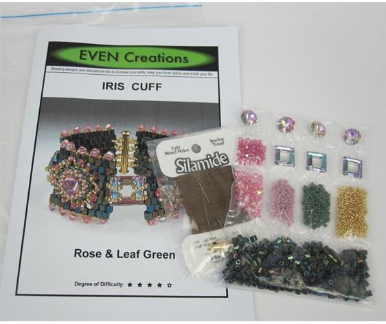 Iris Cuff Kit Materials