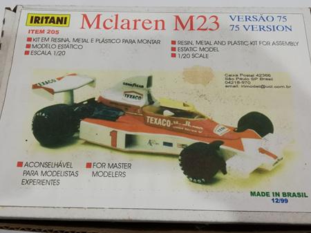 Iritani 1/20 McLaren M23 75 Version