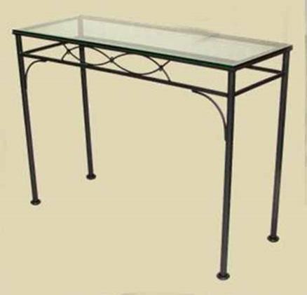 Iron Fishtail Rectangle Console Table b90ae776ed5ca