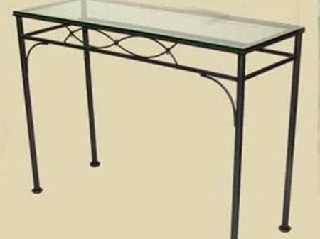 Iron Fishtail Rectangle Console Table