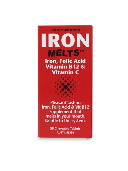 Iron Melts 50