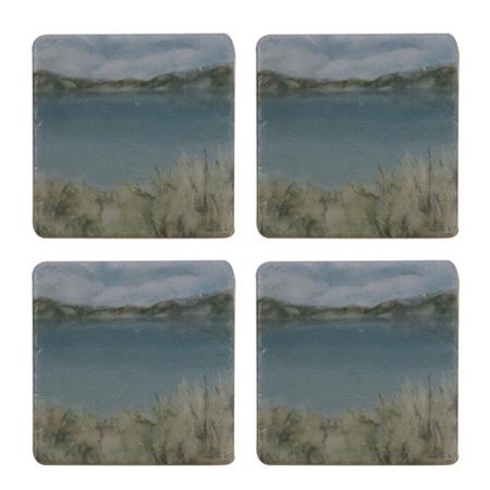 Island Summer  Coasters Set 4