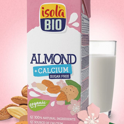 Isola Organic Almond Milk (unsweetened) - 1 L