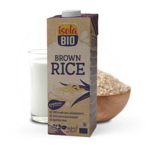 Isola Organic Brown Rice Milk (No Sugar) 1 L