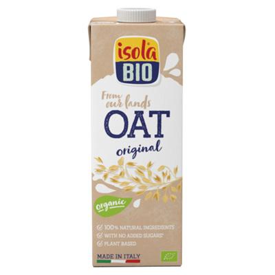 Isola Organic Oat Milk (No Sugar) 1 L