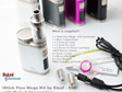 iStick Pico Mega Kit by Eleaf - 80W  with Melo 3 Clearomizer