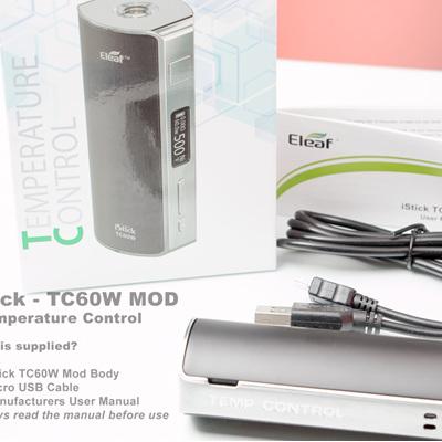 iStick - TC60W MOD - Temperature Control