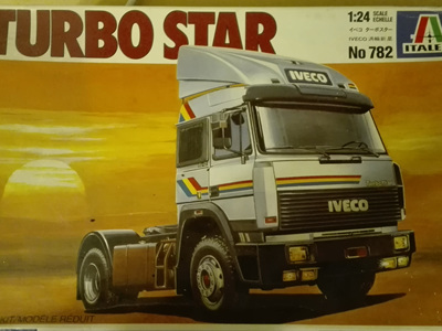 Italeri 1/24 Iveco Turbo Star