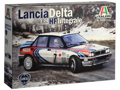 Italeri 1/24 Lancia Delta HF Integrale