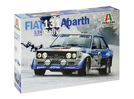Italeri 1/24 FIAT 131 Abarth Rally