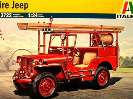 Italeri 1/24 Fire Jeep (ITA3722)