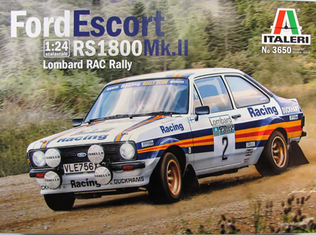 Italeri 1/24 Ford Escort RS 1800 Mk.II Lombard RAC Rally (ITA3650)