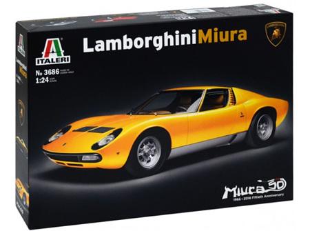 Italeri 1/24 Lamborghini Miura