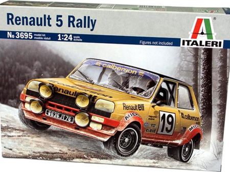 Italeri 1/24 Renault R5 Alpine Rally