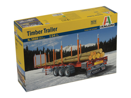 Italeri 1/24 Timber Trailer (ITA3868)