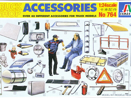 Italeri 1/24 Truck Shop Accessories