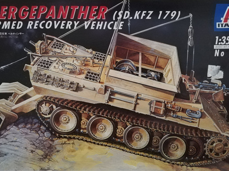 Italeri 1/35 Bergepanther (SD.KFZ 179) Armed Recovery Vehicle (ITA285)