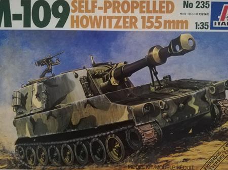 Italeri 1/35 M-109 Howitzer (ITA235)